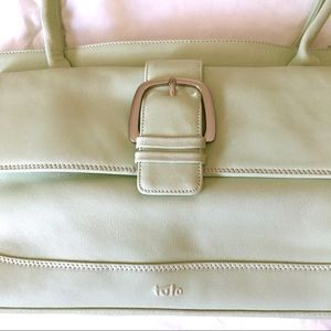 Tula Mint Leather Purse, Beautiful and Clean